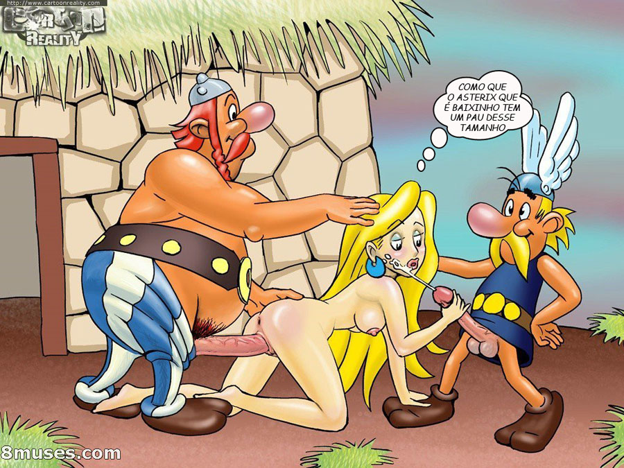 Asterix e Obelix – Cartoon Comics