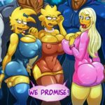 Simpsons – Slut night out